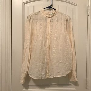 URBAN OUTFITTERS Button back formal blouse